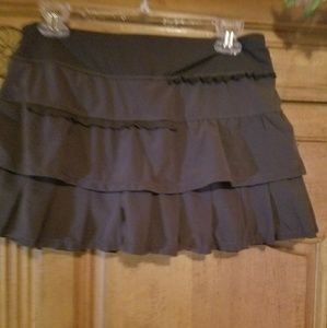 Women's ruffled tennis skirt